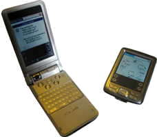 SPINA, here on Palm OS, supports a wide range of hardware and operating systems.